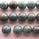 ~  TURQUOISE RICH BLUE 8mm ROUND  SEMI PRECIOUS  BEADS ~ sp618
