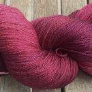 Hand Dyed Yarn - Gothic Queen - Merino & Mulberry Silk - Fingering Yarn 100gr
