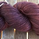 Hand Dyed Yarn - Browns Old Roses - Bluefaced Leicester Wool - Fingering - 100gr