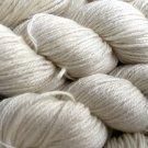 Natural White Yarn - Cashmere/Mulberry Silk - Fingering Yarn 50gr