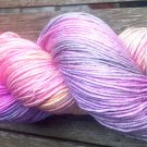 Hand Dyed Yarn - Intuitive Rainbow OOAK - Merino & Mulberry Silk