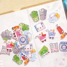 Housework Planner Stickers: Cute Daily Chores Sticker Pack, Erin Condren Planner Stickers