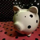 Piggy Bank: Polkadot B&W
