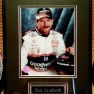 Dale Earnhardt Matted & Framed Photo By Racing Reflections NASCAR Stock car HTF