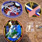 NASA Decal & Pin Lot. STS-109, EXPEDITION 10, P5 TRUSS