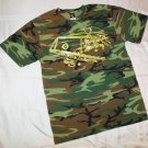 Lowrider Graphic Tee Boonie/Bush Adlt-M 1964 Impala Cheech Chong 100% Cotton