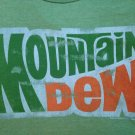 Mountain Dew t shirt mens XL punk rock emo funny tee