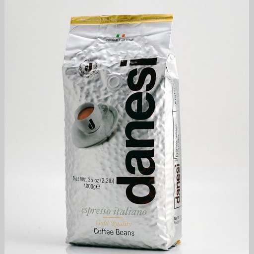 DANESI GOLD ESPRESSO COFFEE BEANS 2.2 LB BAG