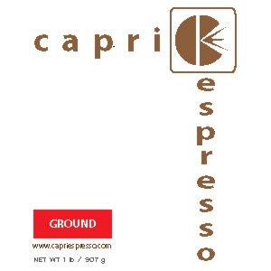 1 LB CAPRI ESPRESSO REGULAR GROUND BAG