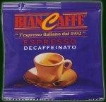 100 BIANCAFFE DECAF ESPRESSO ESE PODS - with Kit