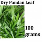 Thai Thailand Dry Pandan Leaves Leaf Packaged Sealed for aroma 100 grams