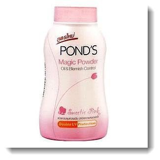 POND'S magic powder oil blemish control UV protection Sweetie Pink 50 grams