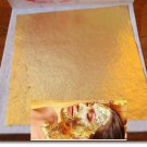 Full 5 pcs.24K Genuine Real Gold Leaf for Facial Mask Skin Treatment& Anti-aging