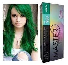 DCASH Permanent Hair Dye Color Cream Super Color # HG 933 Green