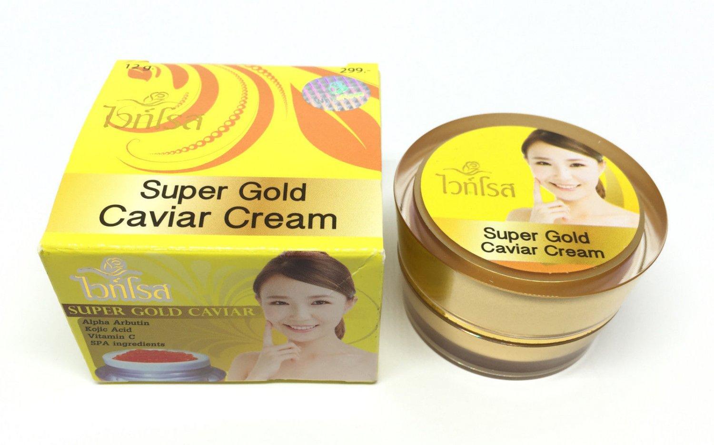 White Rose Super Gold Caviar Melasma Dark spot Blemish Skin Whitening Cream