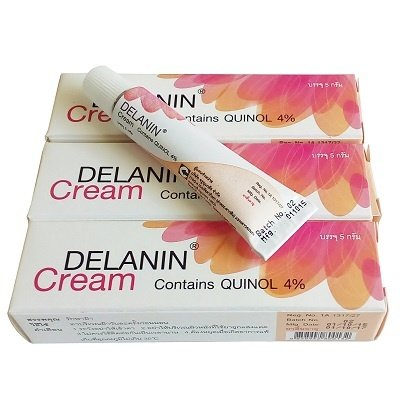 Delanin Cream 5g QUINOL 4% - Skin Whitening Lightening - Treatment