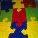 child puzzle blanket