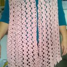 soft pink shawl