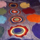 cirlce in square blanket