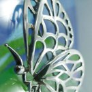 PICTURE PERFECT vintage STERLING 1986 TIFFANY BUTTERFLY STENCIL BROOCH PIN