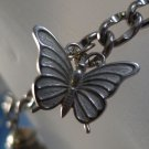 """charm BRACELET: sterling 925 silver 7"""" vintage by American 3 sterling charms"""