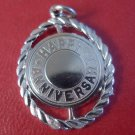 Sterling Silver Happy Anniversary Charm - New Old Stock