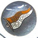 BOONE HIGH SCHOOL FLORIDA Beau Sterling Silver & Enamel Charm