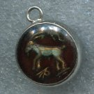 ZODIAC GLASS BUBBLE CHARM : CAPRICORNUS GOAT CAPRICORN / Dec. 22 – January 19