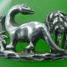 RING sz 9 sterling 925 silver MUSSAURUS smallest DINOSAUR - JURASSIC PERIOD