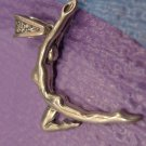 sterling 925 silver PENDANT - DANCER or GYMNAST - MEXICO signed TM-90