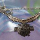 """SALE : H-D HARLEY-DAVIDSON  STAMPER  STERLING 15"""" NECKLACE OFFICIAL LICENSED"""