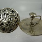 screw EARRINGS: sterling 925 FILIGREE by JEWEL ART - PERFECT - GIFT QUALITY