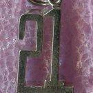 vintage Birthday Charm : 21 Plus - Sterling 925 Silver - RJL