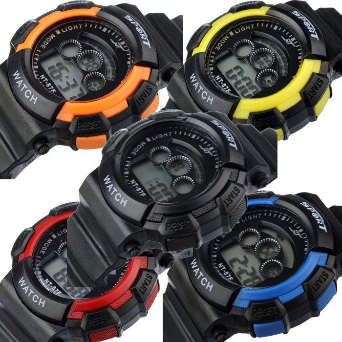 Sports LED Light Electronic Digital Watch