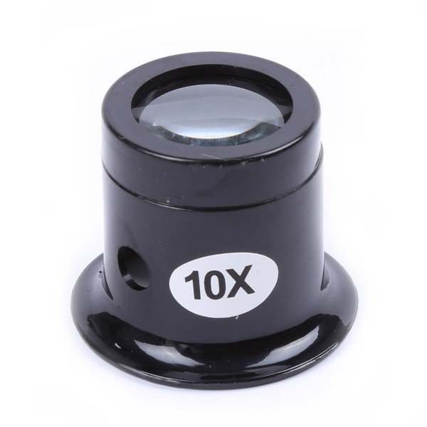 Watch Repair Tool Eye Loupe Jewelry Optical Loop 10X Magnifier Magnifying Glass