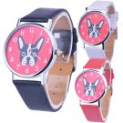 Casual Watch Women Quartz watches Stylish Animal Pattern Cartoon Wristwatch