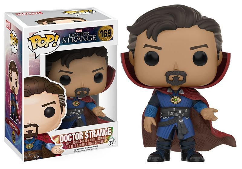 9cm Funko pop Doctor Strange - Dr. Strange Vinyl Figure Collectible Model Toy