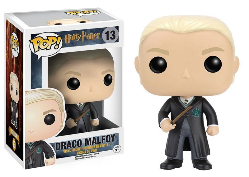FUNKO POP 10cm Harry Potter Draco Malfoy Action Figure Bobble Head Box Collectible Vinyl