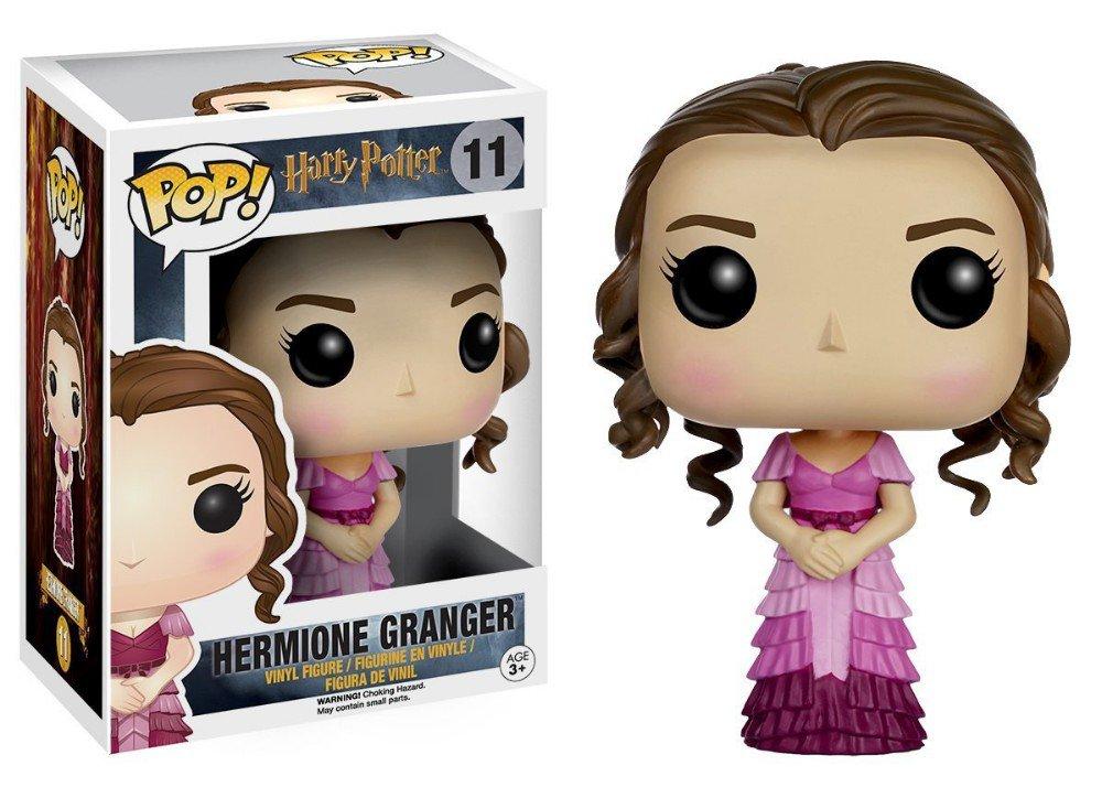 FUNKO POP 10cm Harry Potter Hermione Granger Action Figure Bobble Head Box Collectible Vinyl