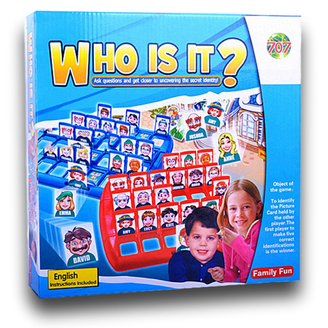 Who Is It? The Guessing Game Guess Who? Board Game
