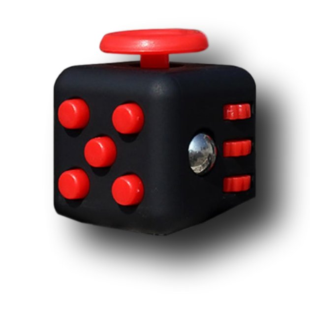 Black Red Fidget Cube Toys Original Quality Puzzles & Magic Cubes Anti Stress Reliever Gift