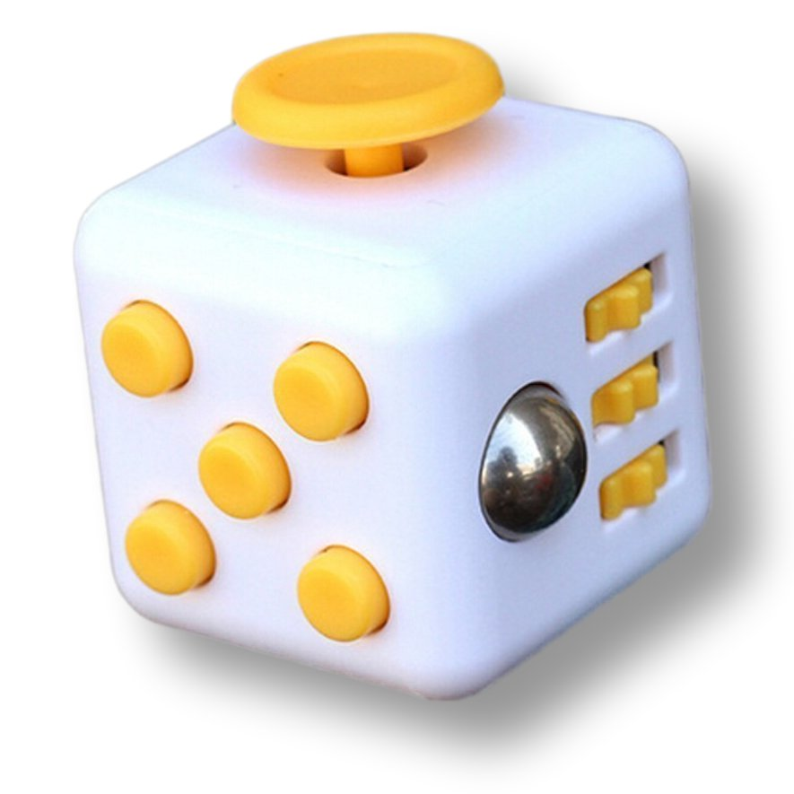 White Yellow Fidget Cube Toys Original Quality Puzzles & Magic Cubes Anti Stress Reliever Gift