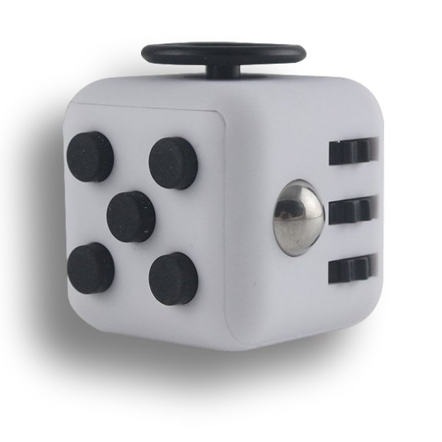 Gray Black Fidget Cube Toys Original Quality Puzzles & Magic Cubes Anti Stress Reliever Gift