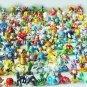 2017 1Pcs Pokeball + 1pcs Random Pokemon Tiny Figures Inside Anime Action & Toy Figures for Children