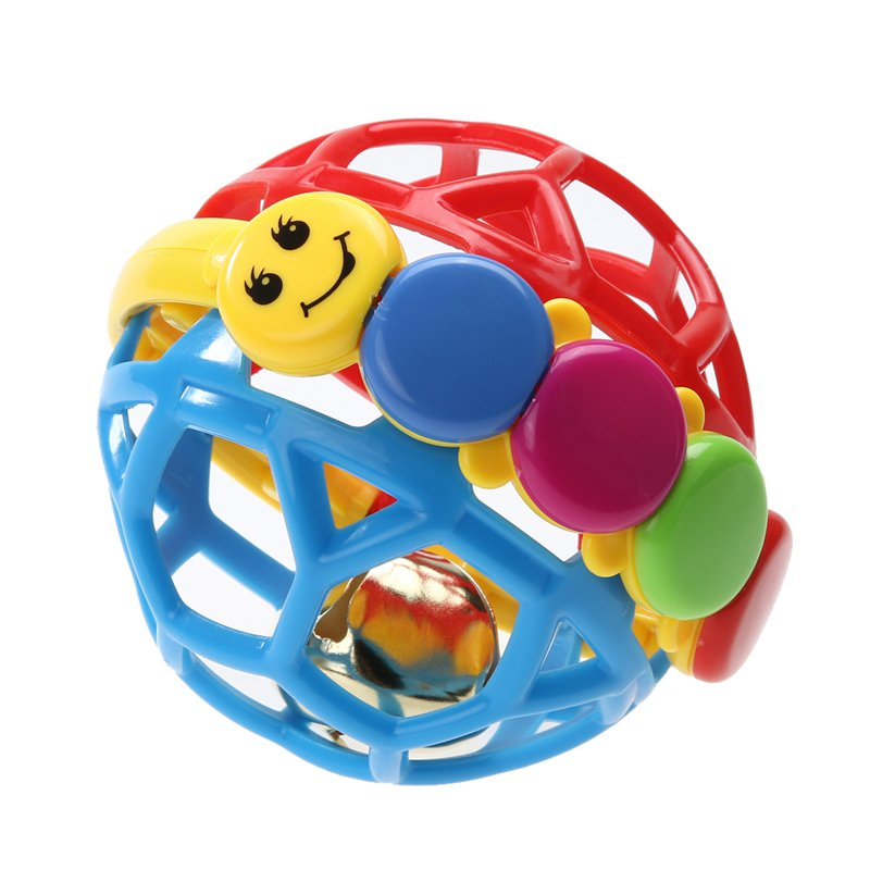 Baby Bendy Play Ball Plastic ABS Toddlers Fun Multicolor Activity Educational Toys