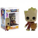 Funko POP Guardians of the Galaxy Vol. 2 Baby Toddler Groot With Shield 10cm Vinyl Tree Man Pvc