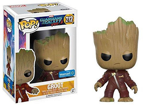 Funko POP Guardians of the Galaxy Vol. 2 Angry Baby Toddler Groot In Costume 10cm Vinyl Tree Man Pvc