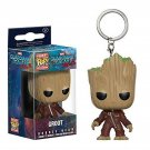 Funko POP Keychain Guardians of the Galaxy Vol. 2 Angry Baby Toddler Groot In Costume 5cm Vinyl Pvc