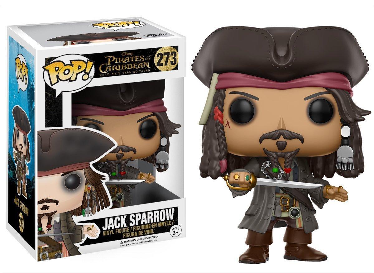 Funko POP Pirates of the Caribbean 5 Dead Men Tell No Tales Jack Sparrow Action Figure 10cm Vinyl