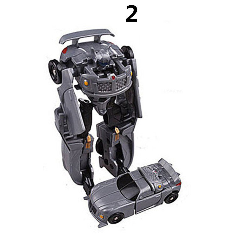 Mini Transformation Plastic Robot Cars Transformers The Last Knight Action Figure Educational Puzzle